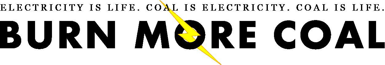 Burn More Coal