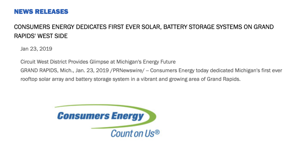 Consumers Energy: We're getting out of coal, saving the
